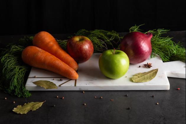 美顏蘋果紅蘿蔔濃湯 4