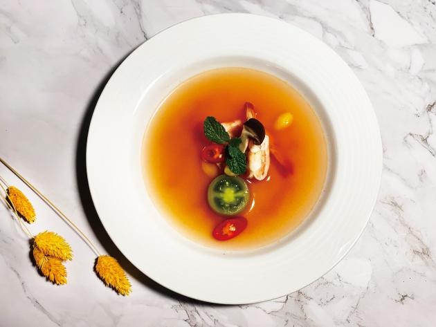 地中海香辣鮮蝦番茄清湯 2