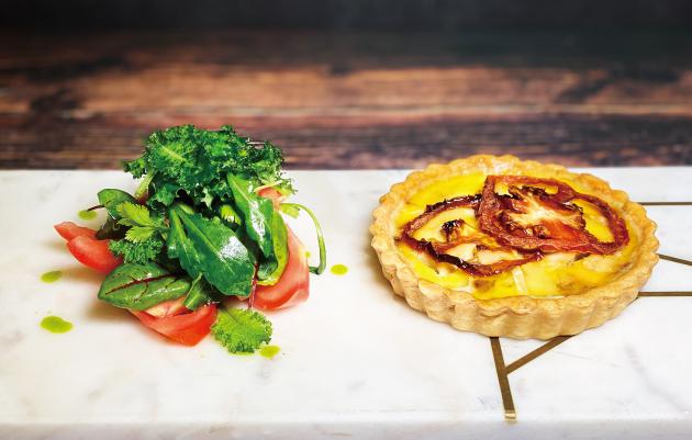 地中海雞肉風乾番茄法式鹹派 2