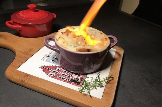 法式山羊乳酪麵疙瘩 4